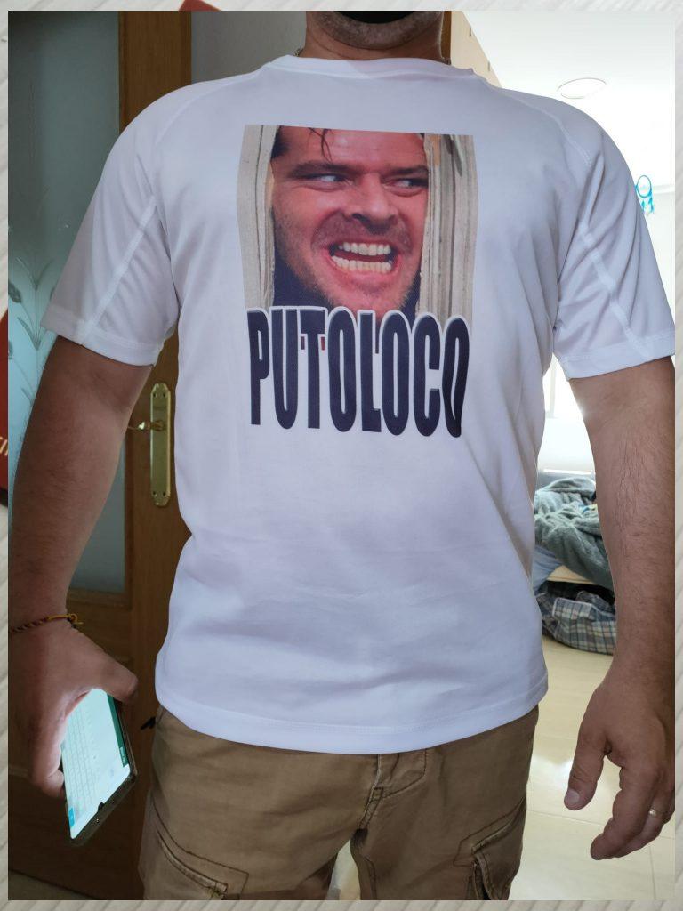 camiseta putoloco