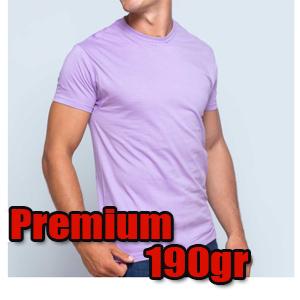 camiseta premium 190gr